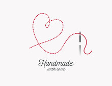 Handmade With Love Background ...