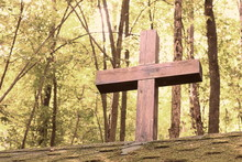 Wooden Christian Religious Cro...