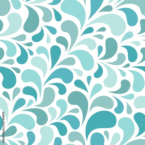 seamless-abstract-pattern-with-blue-and-turquoise-drops-or-petals-on-white-background