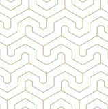 Wektor geometryczny wzór złoto. Nowoczesny wzór liniowy. - 267410219