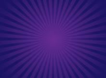 Sunlight Retro Bright Background. Purple And Violet Color Burst Background.