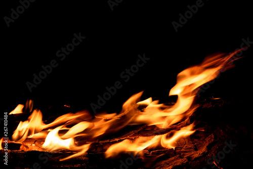 fire bonfire flame firewood splash