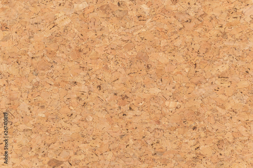 Cuadros en Lienzo Abstract brown corkboard or cockboard texture background