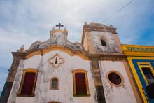 OLINDA, PERNAMBUCO, BRAZIL: Old Beautiful Catholic Church In Olinda. Olinda Is A Colonial Town On Brazil S Northeast Coast.