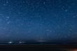 10分間の星の軌跡(仙台荒浜海岸)