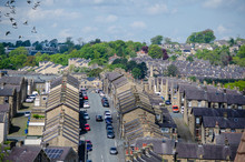 Aerial View Of  City Skipton