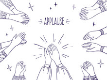 Doodle Applause. Happy People ...