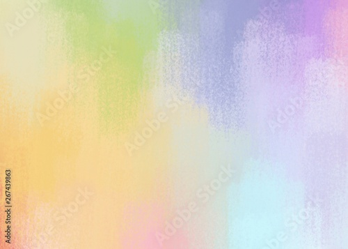 Photo  rainbow pastel  beautiful color matching paint like illustration abstract backgr