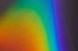 canvas print picture - Spectral gradient of sunlight coming through a prism