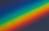 Fototapeta Tęcza - Spectral gradient of sunlight coming through a prism