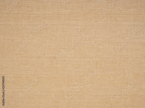 Brown textile book cover. Suitable for wallpaper. Close-up