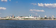 Panoramic view of the Kremlin and the central part of Kazan.