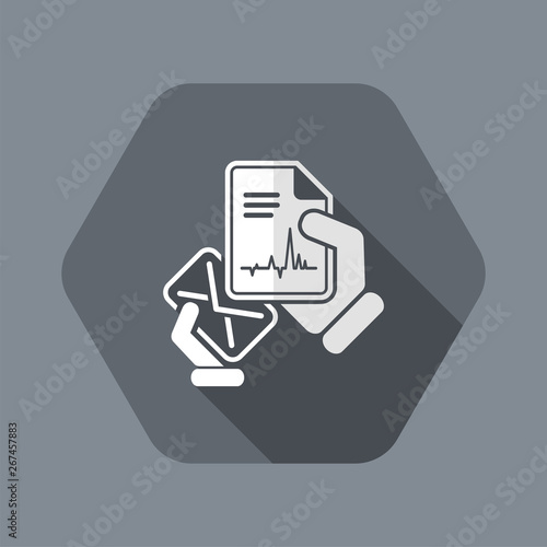 Photo Mail with a medical document