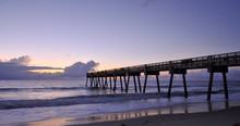 The Vero Beach Pier In Florida