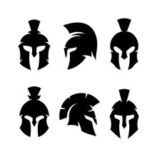 Spartan Helmet Warrior Emblems...