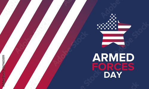 Photo  Armed Forces Day in May