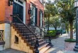Fototapeta Sawanna - Historic Home in Savannah Georgia
