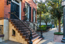 Historic Home In Savannah Geor...