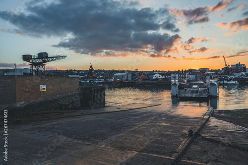 Canvas Print East Cowes, Isle of Wight