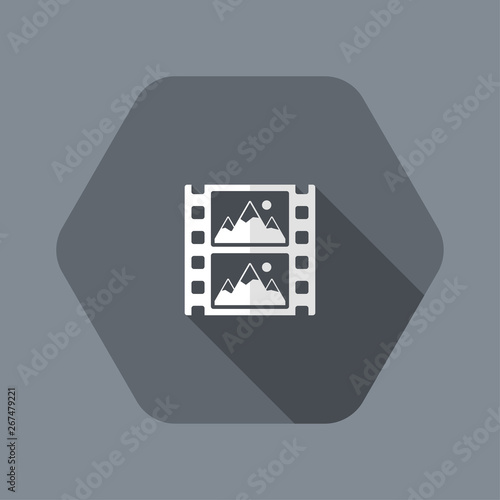 Платно Frames per second concept