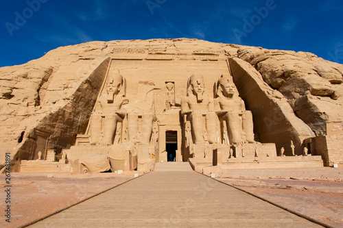Fototapeta  Abu Simbel Egypt entrance temple