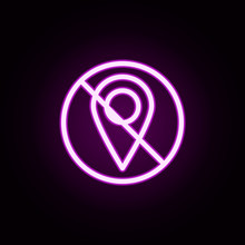 Geolocation Prohibition Neon I...