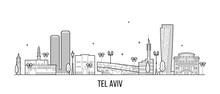 Tel Aviv Skyline Israel Buildi...