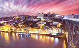 Porto, Portugal old town skyline on the Douro River - 267519210