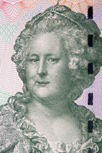 Catherine The Great A Portrait From Transnistrian Money