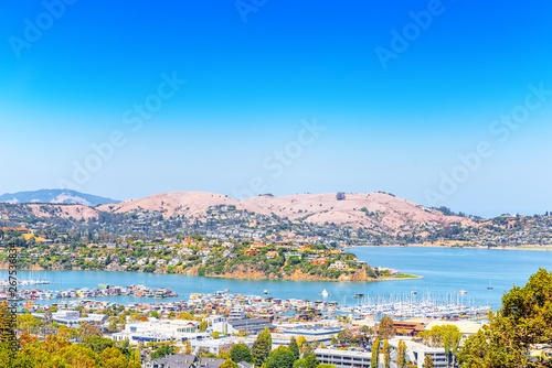 Fototapeta Sausalito is a city in Marin County, California.