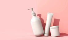 Blank White Cosmetic Skincare ...