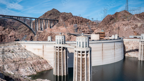 Recess Fitting Dam View of hoover dam las vegas nevada hydroelectric power plant