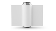 Aluminum Cans With Label Isola...