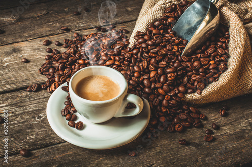 coffee background - 267568050