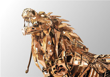 Futuristic Robotic Predator Li...