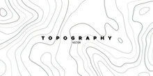 Topography Relief. Abstract Ba...