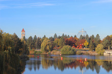 Central Overview Of Spokane In Washington State