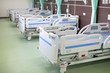 Mobile Hospital Bed, electric Variable Height,Medical Equipment.