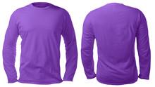 Purple Long Sleeved Shirt Desi...