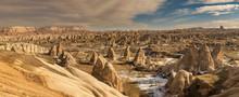 Rock Formations From Cappadocia Region Of Turkey