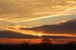 Zachód słońca okolice Krakowa