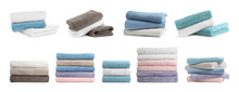 Set Of Folded Soft Terry Towel...