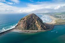 Morro Rock In Morro Bay.