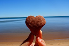 Heart Rock On Apostle Islands ...