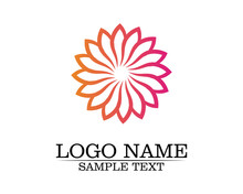Vector - Vector Set Of Floral Patterns On A White Background