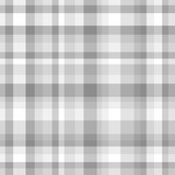 Seamless checkered pattern. Abstract geometric wallpaper of the surface. Striped multicolored background. Print for banner, flyer or poster. Black and white illustration - 267684495