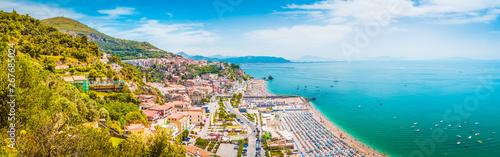Obraz na plátně Town of Vietri sul Mare, province of Salerno, Campania, Italy
