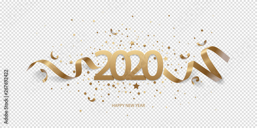 Happy New Year Transparent Background 37