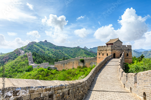Papiers peints Muraille de Chine The Great Wall of China at Jinshanling