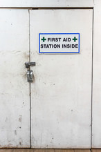 Temporary First Aid Station Di...
